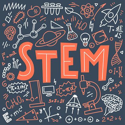 stem education stock illustrations