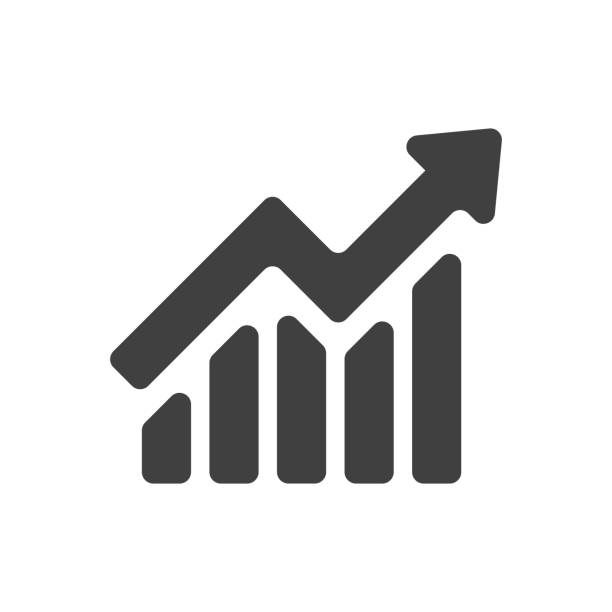 growing business concept - heben stock-grafiken, -clipart, -cartoons und -symbole