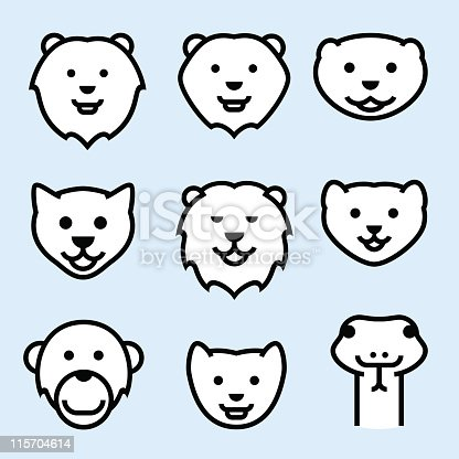 ZOO ICONS (outline) 1