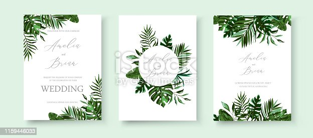istock stock-vector-wedding-invitation-floral-invite-thank-you-rsvp-modern-card-design-green-tropical-palm-leaf-1005706003 1159446033