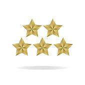 GOLDEN FIVE STARS