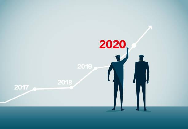 ilustrações, clipart, desenhos animados e ícones de 2020 - ceo