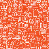 istock EDUCATION AND SCHOOL RELATED SEAMLESS PATTERN 1186055398