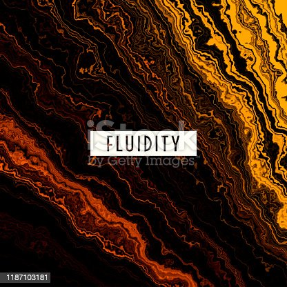 istock FLUID GOLD MELTING WAVES FLOWING LIQUID MOTION ABSTRACT BACKGROUND 1187103181