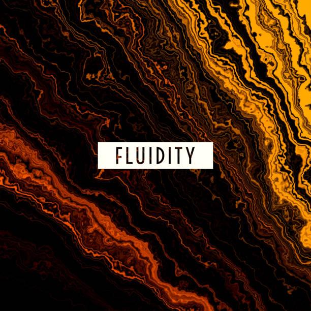 ilustrações de stock, clip art, desenhos animados e ícones de fluid gold melting waves flowing liquid motion abstract background - alter do chão