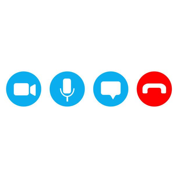 illustrazioni stock, clip art, cartoni animati e icone di tendenza di ðŸðµñ‡ð°ñ'ñŒ - video call