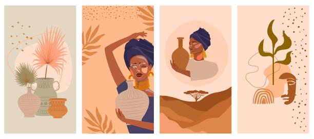illustrazioni stock, clip art, cartoni animati e icone di tendenza di ðŸðµñ‡ð°ñ'ñŒ - woman portrait forest