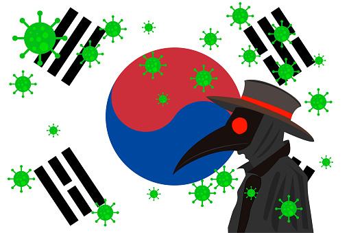 DR PESTE BANDERA SOUTH KOREA