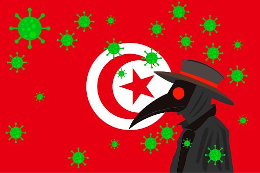 DR PESTE BANDERA TUNISIA