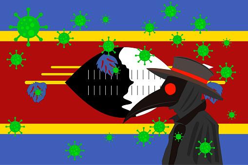 DR PESTE BANDERA SWAZILAND