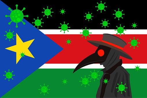 DR PESTE BANDERA SOUTH SUDAN