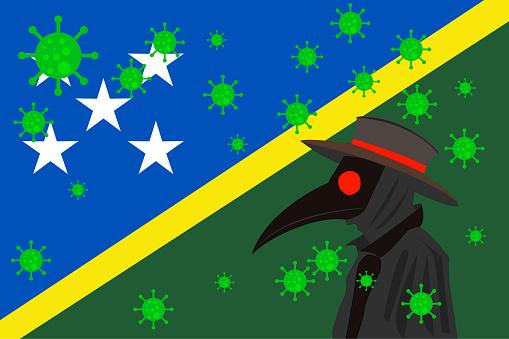 DR PESTE BANDERA SOLOMON ISLANDS
