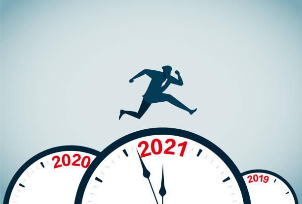 2021 vector art illustration