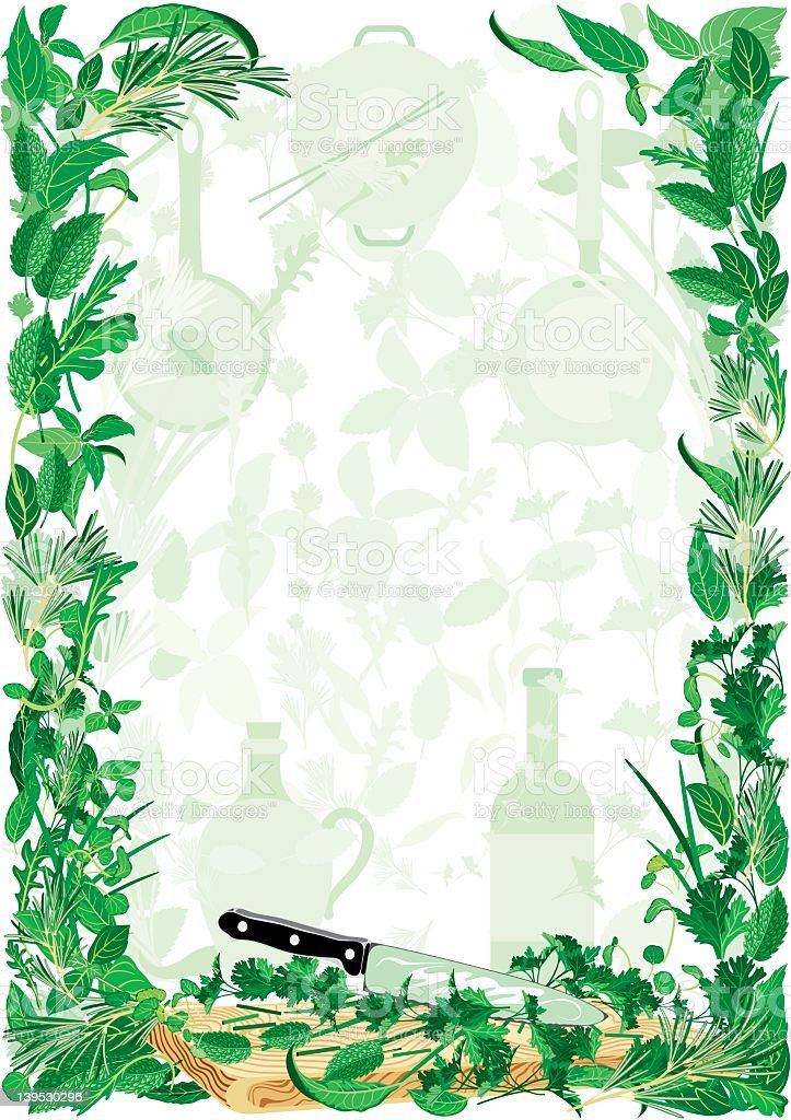 HERBS royalty-free stock vector art