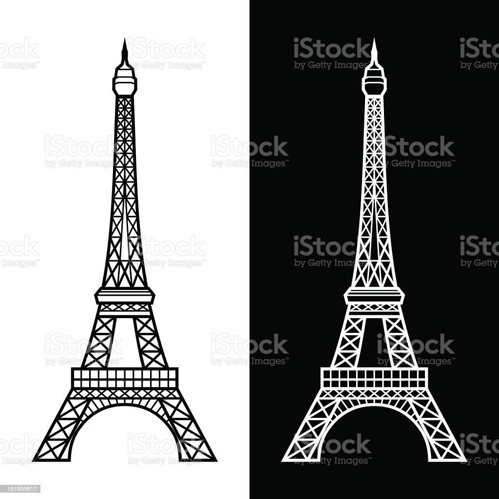 eiffel tower stock vector art 151935612 istock