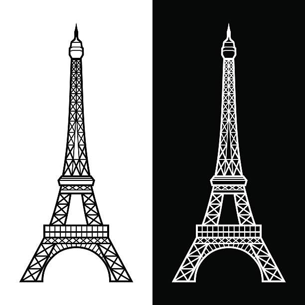 illustrations, cliparts, dessins animés et icônes de la tour eiffel - tour eiffel