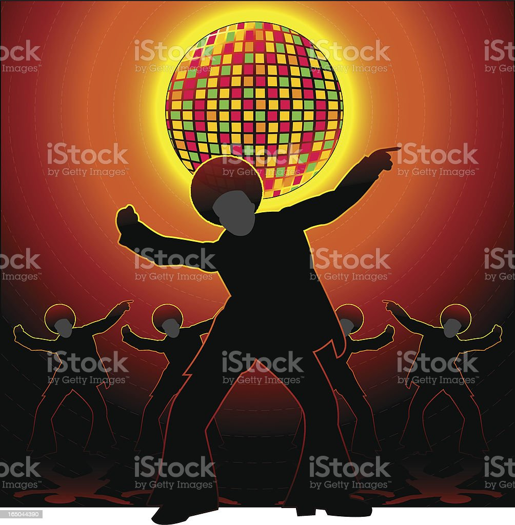 DISCO TIME royalty-free disco time stock vector art & more images of 1960-1969