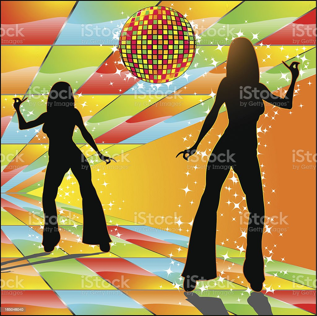 DISCO FEVER royalty-free disco fever stock vector art & more images of 1970-1979