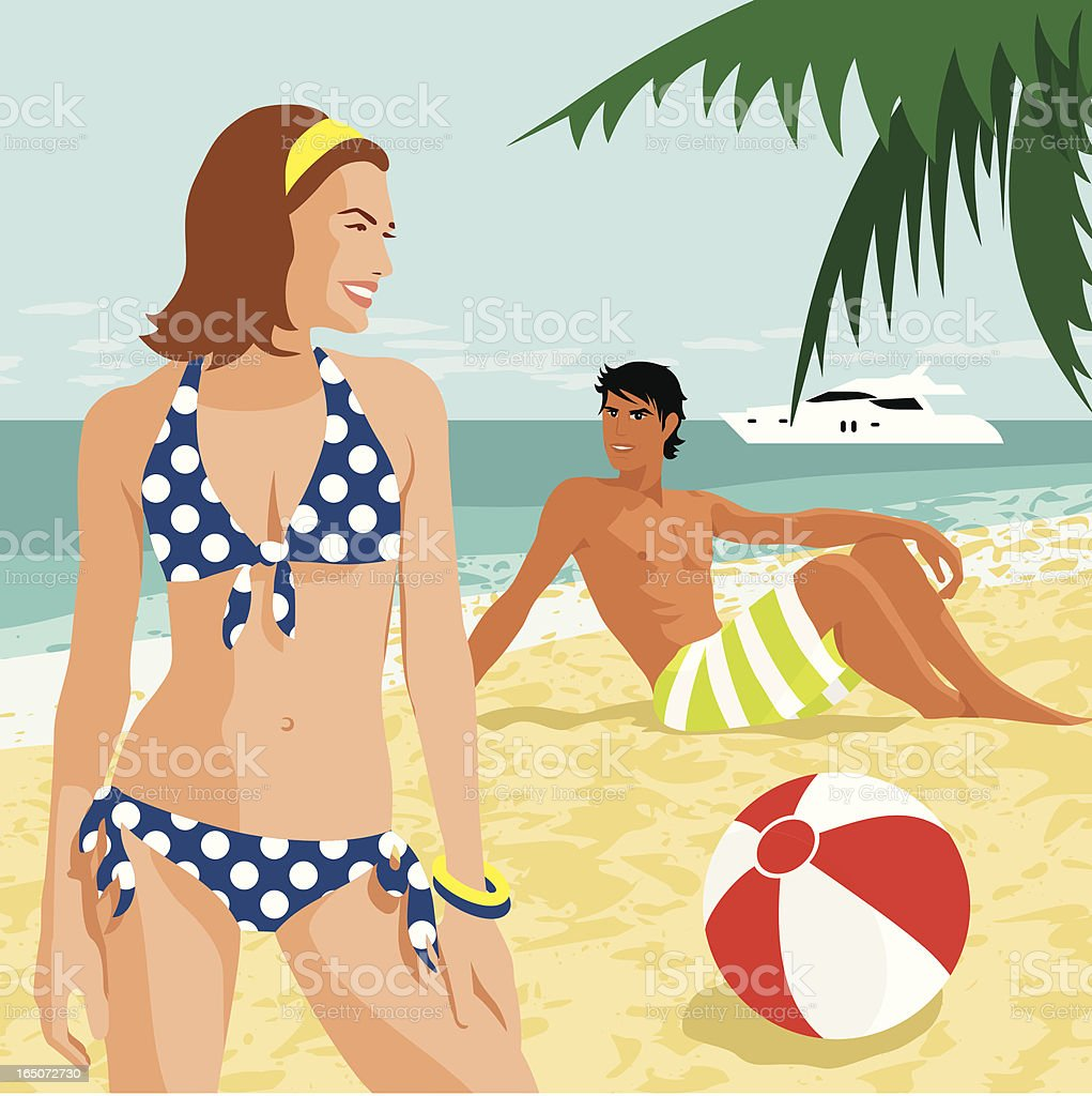 PERFECT MATCH vector art illustration