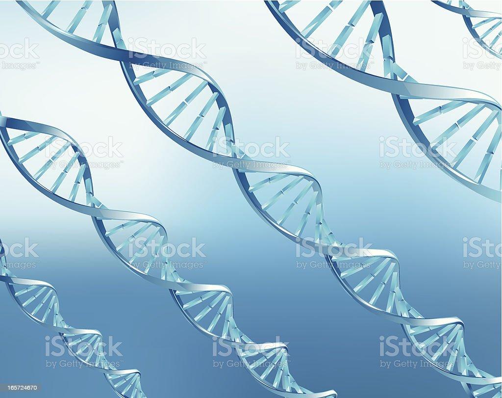 DNA royalty-free stock vector art