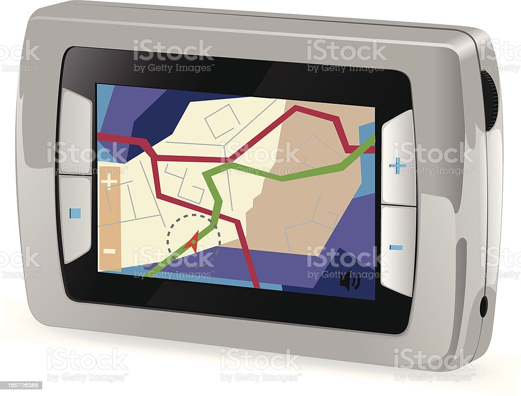 GPS royalty-free gps stock vector art & more images of cut out
