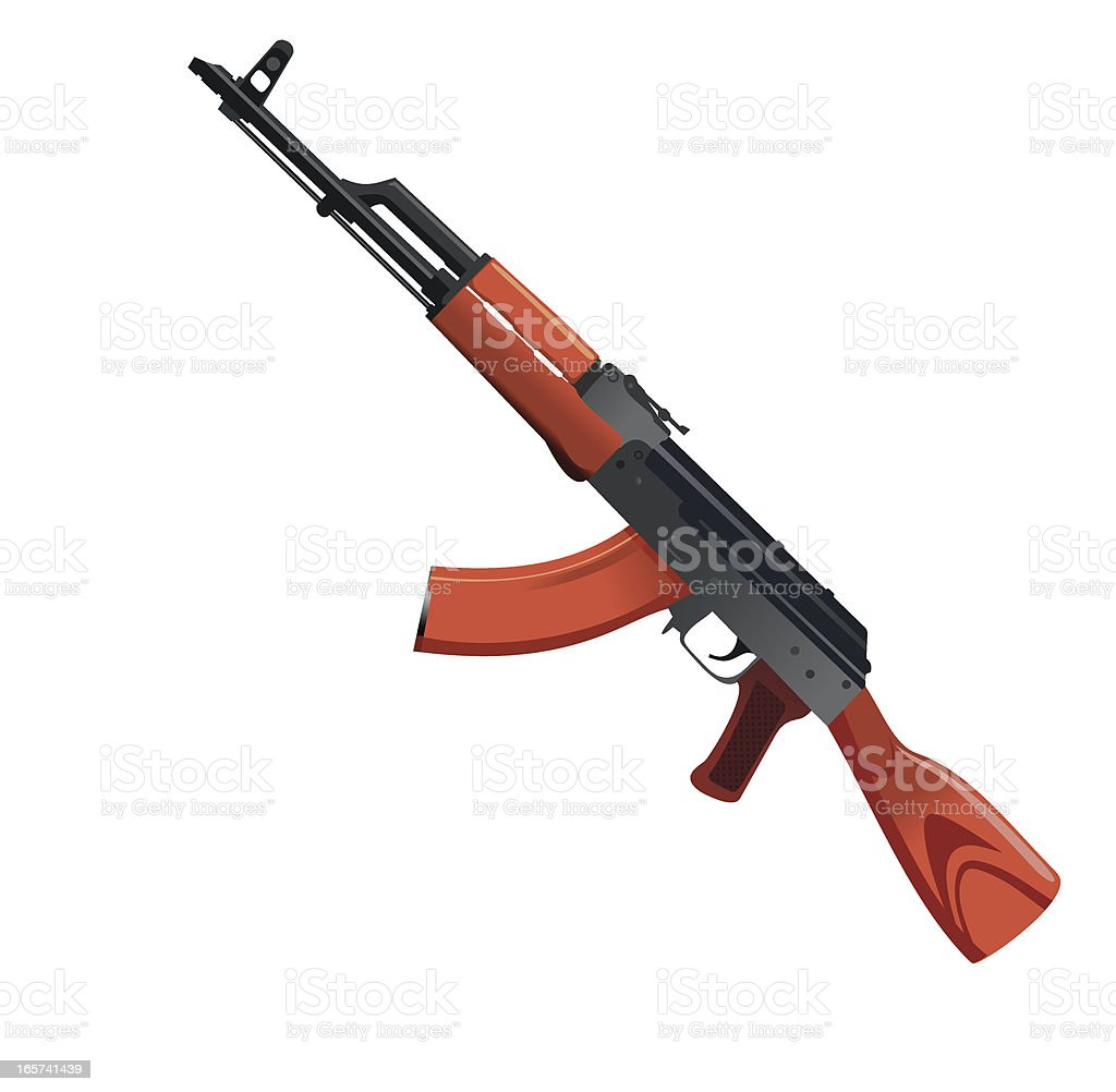 AK -47 ベクターアートイラスト