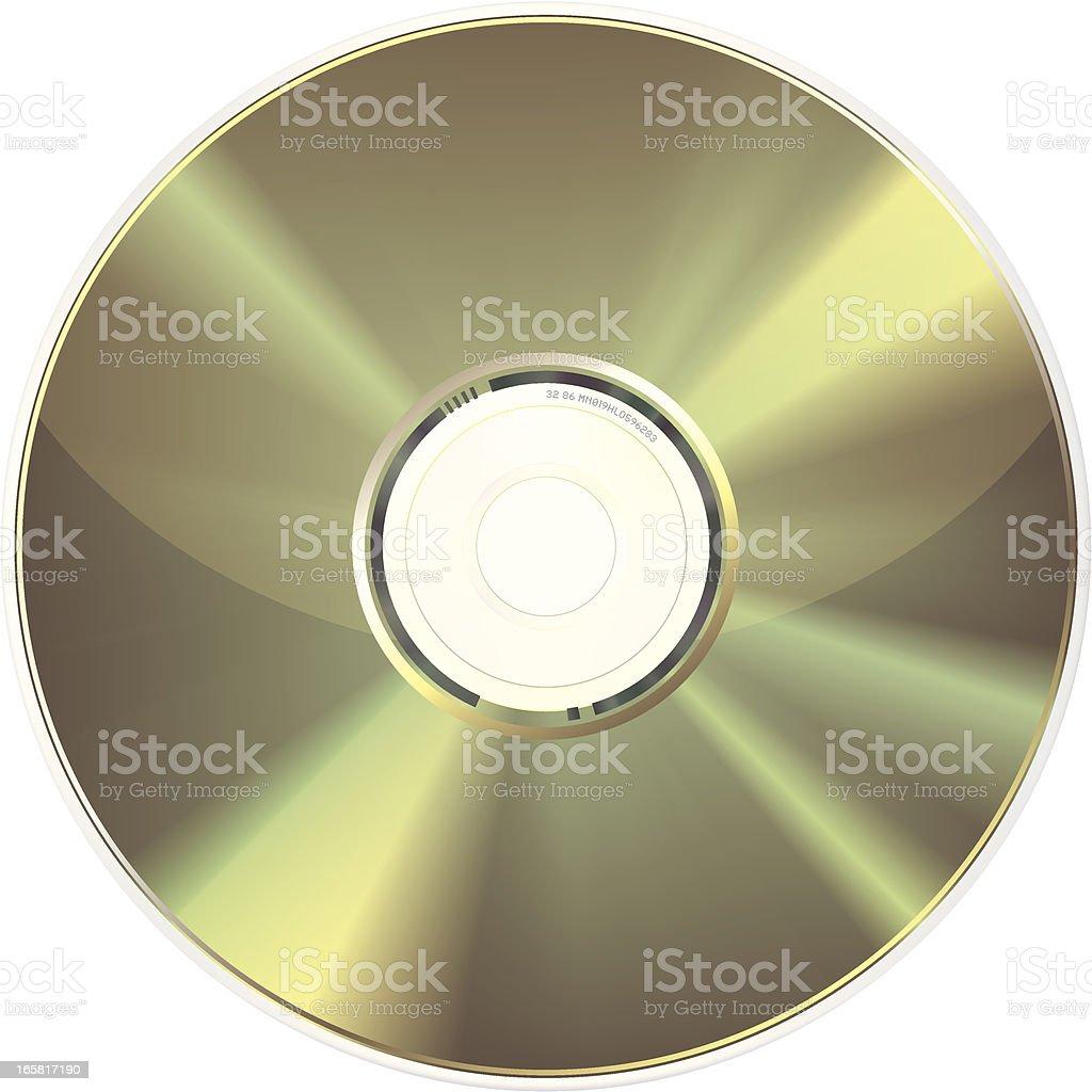 CD-ROM royalty-free stock vector art