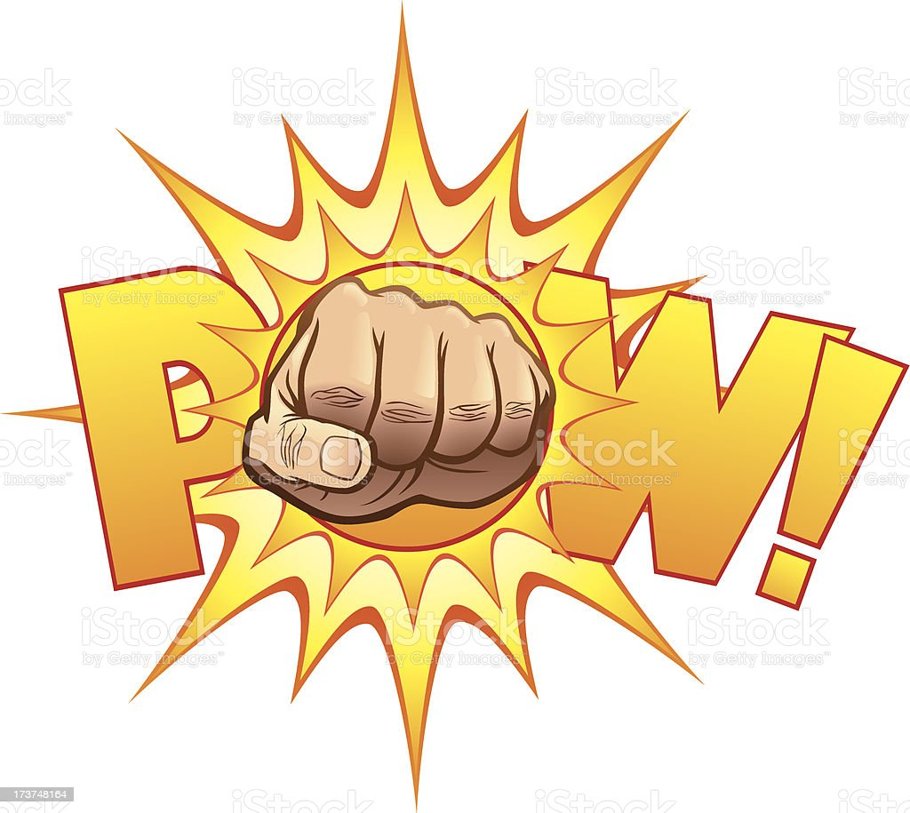POW! royalty-free pow stock vector art & more images of activity