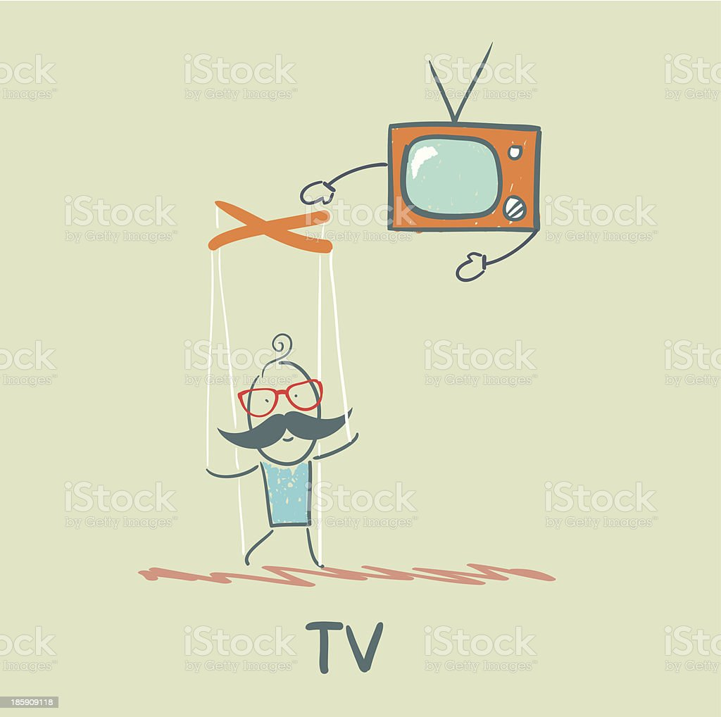 TV royalty-free tv stock vector art & more images of accessibility