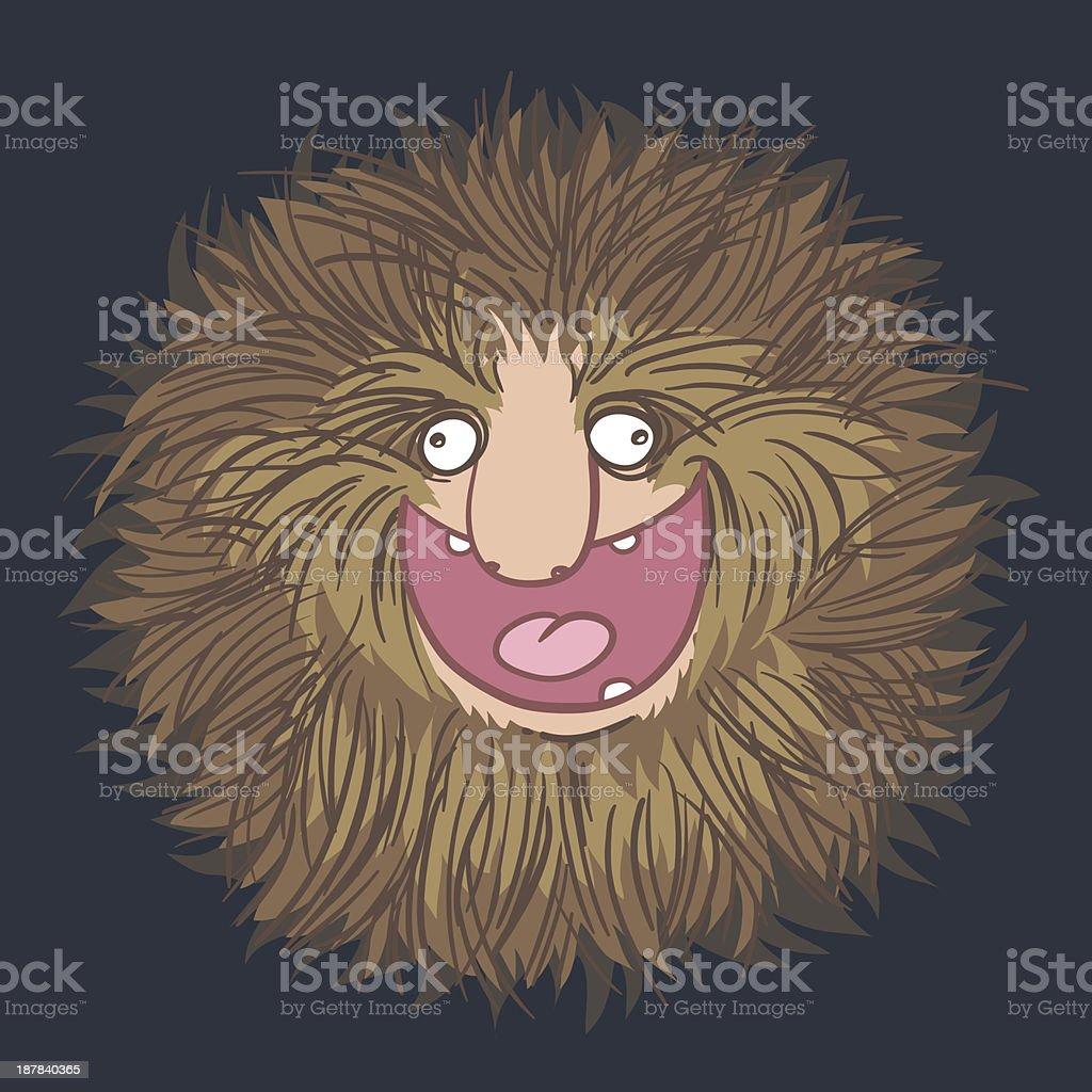 HAIR LOVER vector art illustration