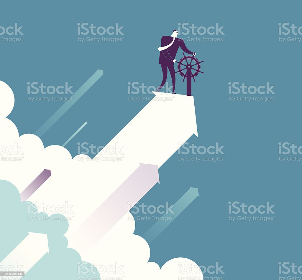 UP vector art illustration
