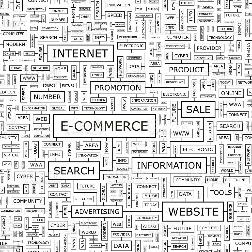 E-COMMERCE royalty-free ecommerce stock vector art & more images of backgrounds