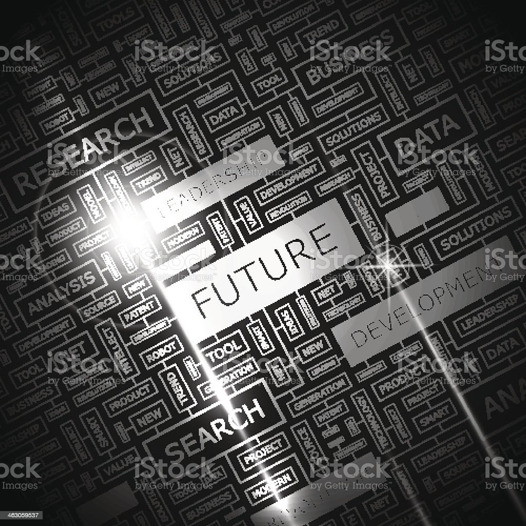 FUTURE vector art illustration