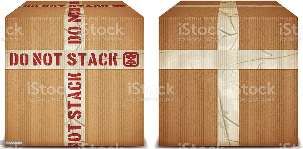 DO NOT STACK royalty-free stock vector art