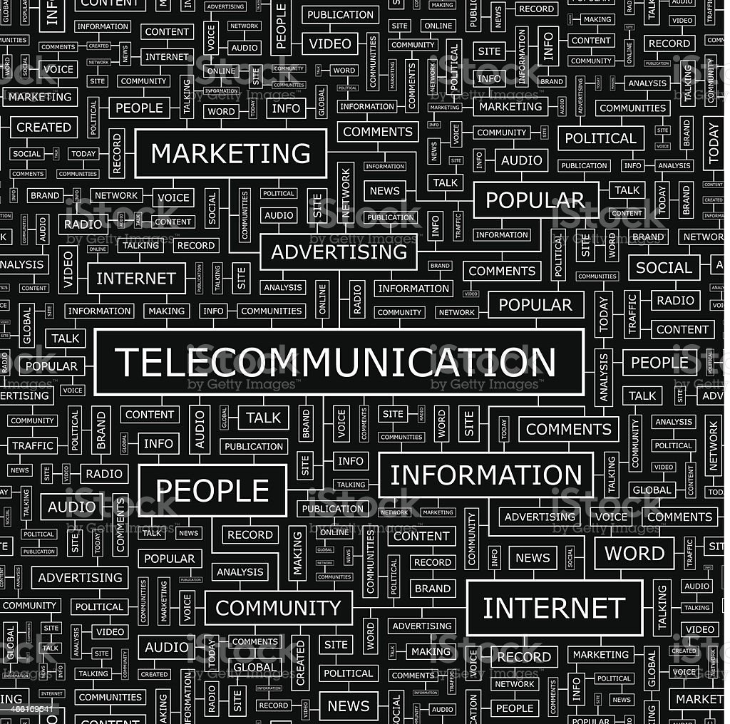 TELECOMMUNICATION royalty-free telecommunication stock vector art & more images of backgrounds