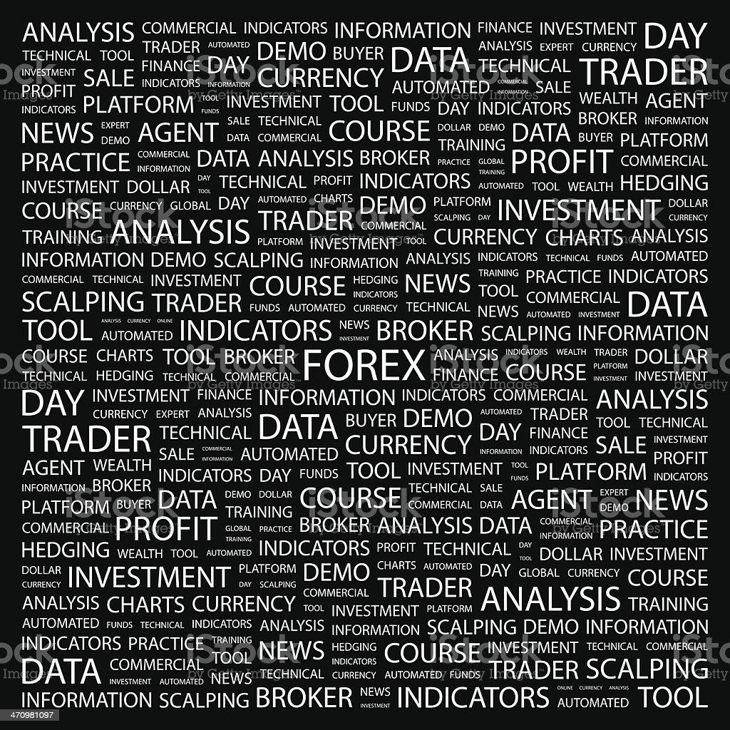 FOREX. royalty-free stock vector art