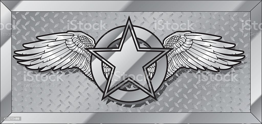 IRON WINGS royalty-free iron wings stock vector art & more images of aerospace industry