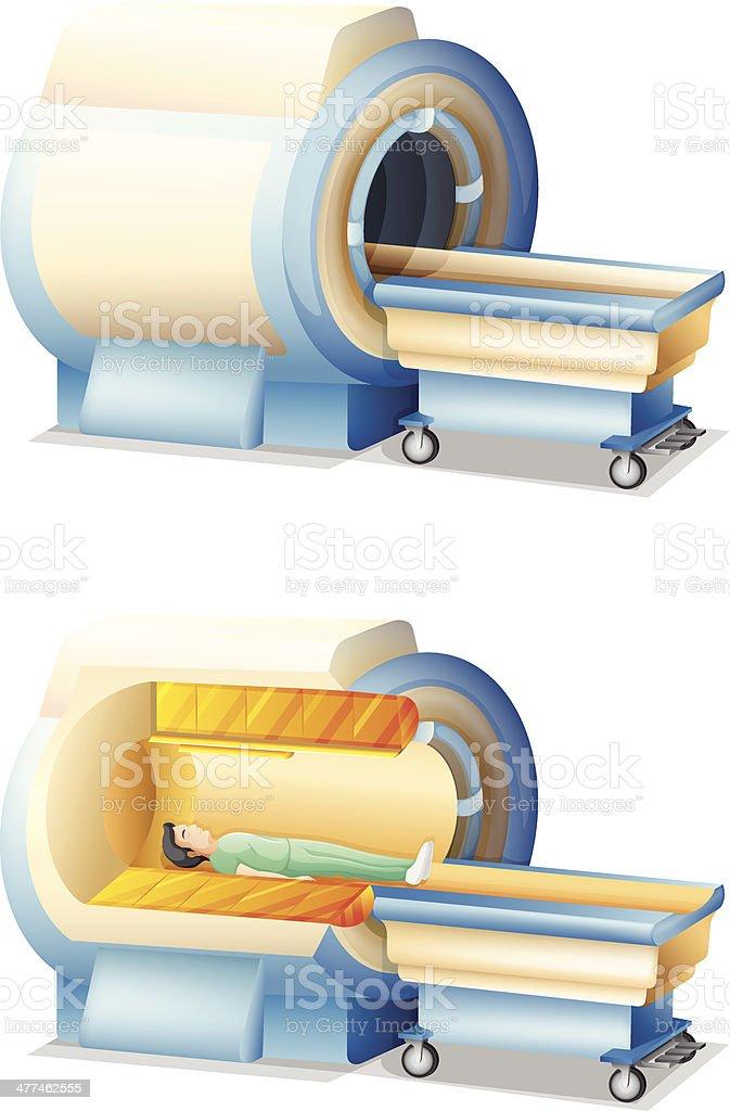 MRI royalty-free stock vector art