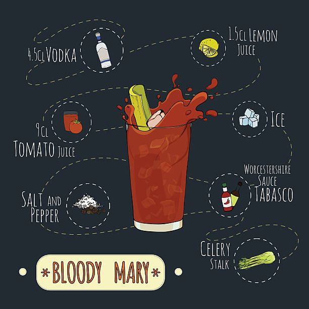 mary1 - vegetable blood stock illustrations, clip art, cartoons, & icons