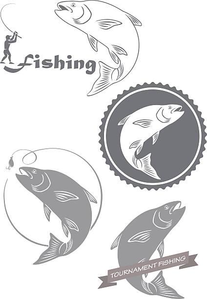 724 - redfish stock illustrations, clip art, cartoons, & icons
