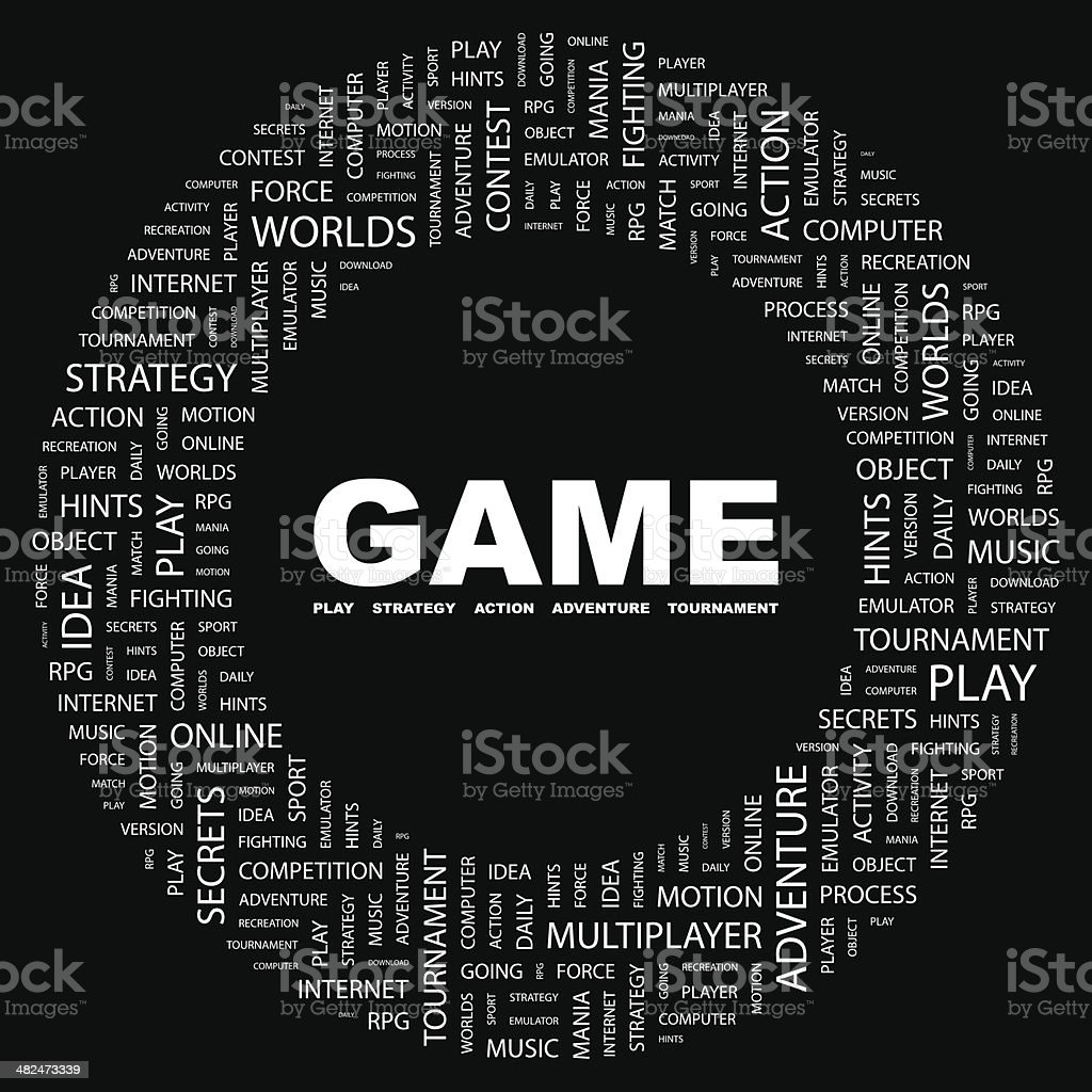 GAME. royalty-free game stock vector art & more images of activity