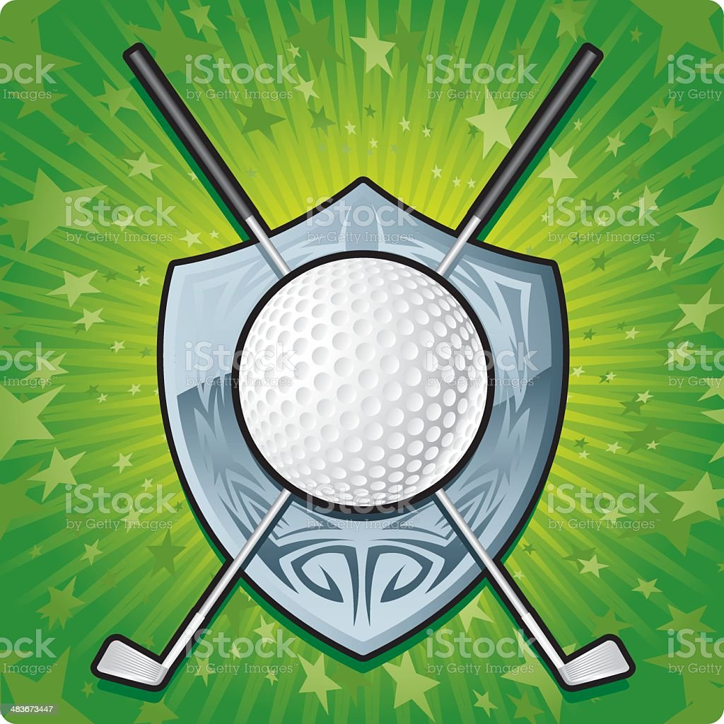 FORE!! royalty-free stock vector art