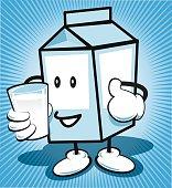 Drink milk is good!
