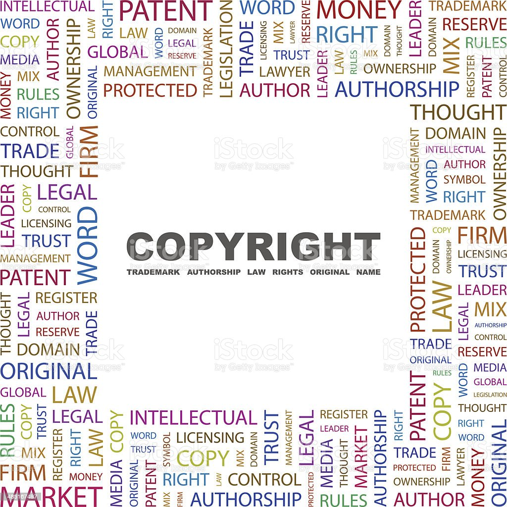COPYRIGHT royalty-free stock vector art