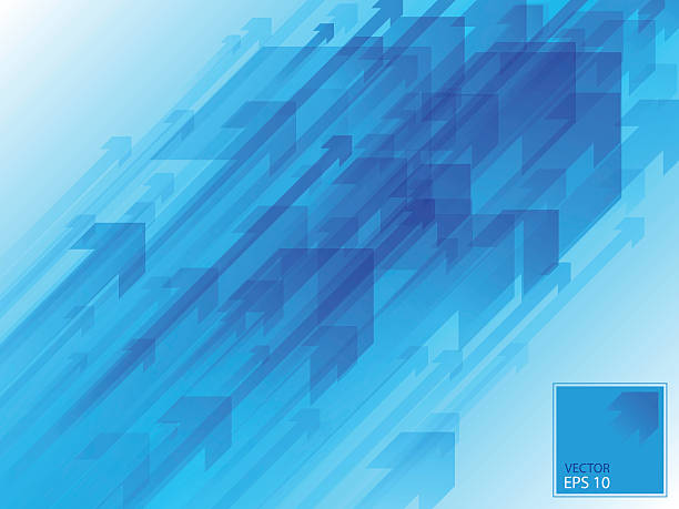 CYAN ARROWS BACKGROUND 04 vector illustration eps 10 guide stock illustrations
