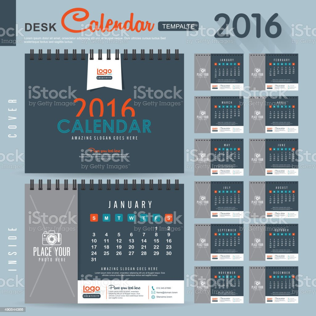 CALENDAR 09 vector art illustration