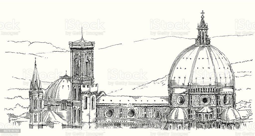 ITALY 6 vector art illustration