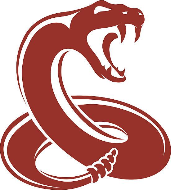 ガラガラヘビ - ヘビ点のイラスト素材/クリップアート素材/マンガ素材/アイコン素材