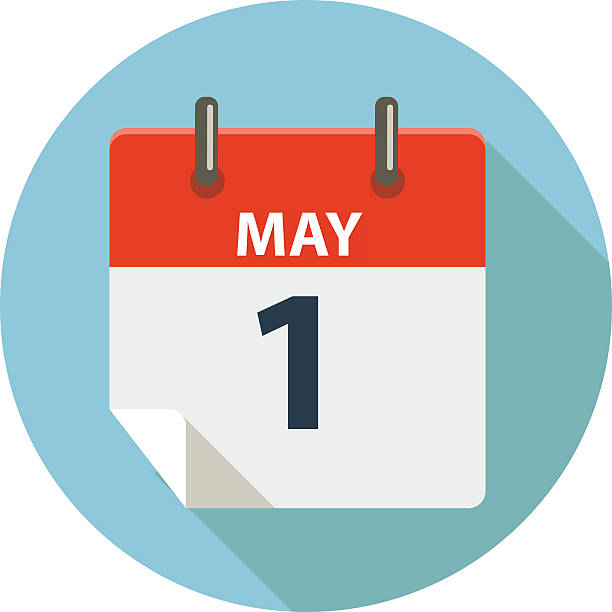 may 1 - may day - may day stock illustrations, clip art, cartoons, & icons