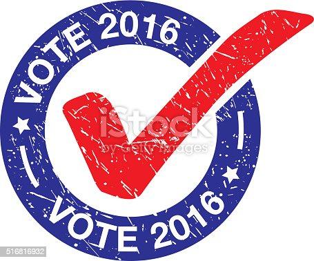 VOTE 2016 LABEL